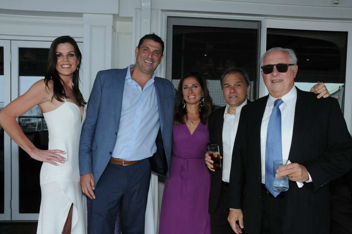 The Alzheimer's Association Connecticut Chapter held its annual Celebrating Hope gala at the Riverside Yacht Club on May 11, 2018 Guests enjoyed dinner, live music and an auction to benefit the association's programs, services, advocacy efforts and research. Broadway star Abby Mueller debuted original song called