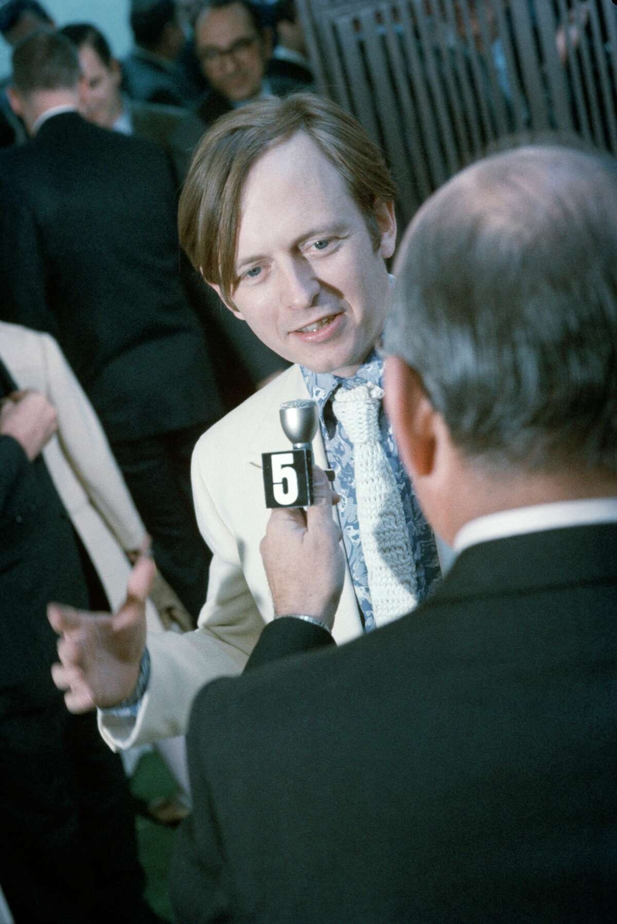 Author Tom Wolfe at launch for New York Magazine in 1968.
