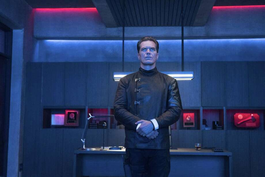 "Michael Shannon is terrifying in ""Fahrenheit 451."" Photo: Michael Gibson / HBO"