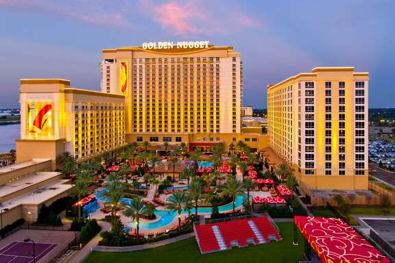 The Golden Nugget casino resort in Lake Charles