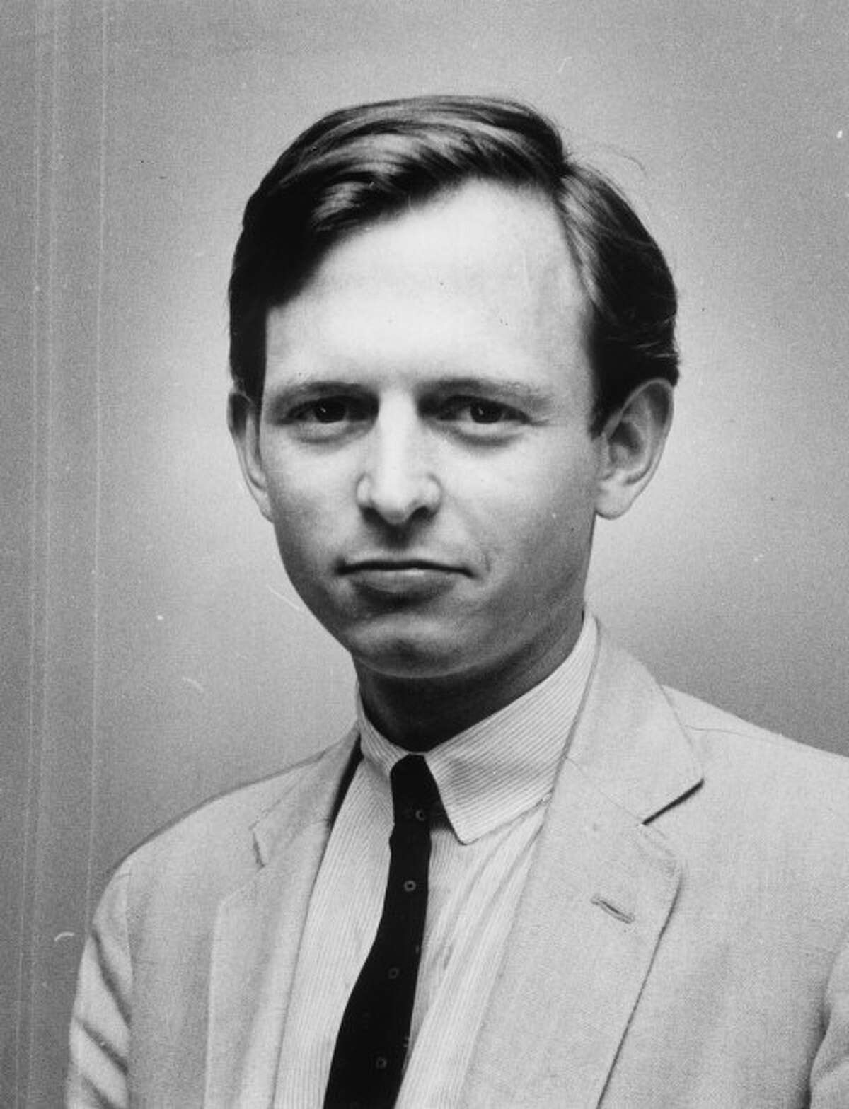 Tom Wolfe as a Washington Post staff writer in 1961.