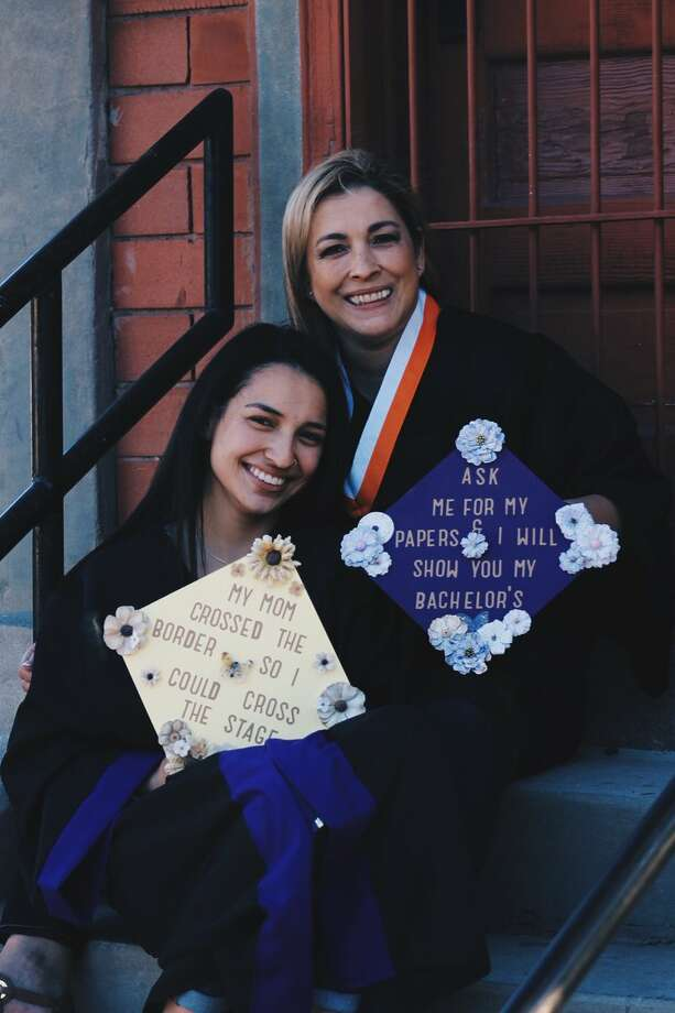 "@sophiajbaldy: ""in honor of mexican mother's day, here it goes for my mom who came as an undocumented DREAMer who then became a citizen. i'm so proud, thank you for inspiring me no matter the obstacles /// job stealing immigrant"" Photo: Courtesy, Lidia And Sophia Balderrama"