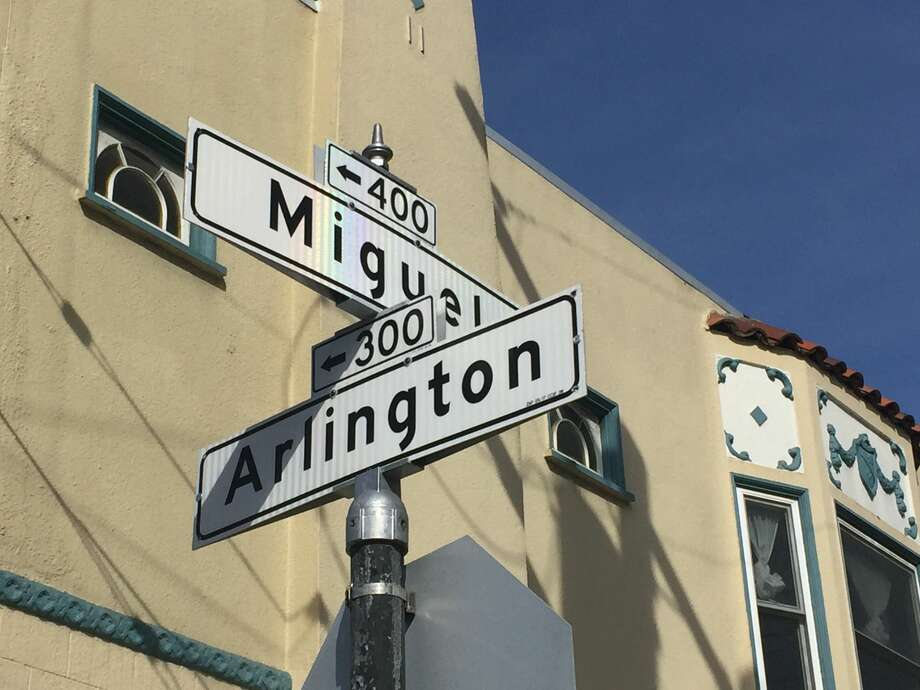 Residents living on Miguel Street in San Francisco's Glen Park have noticed an increase in traffic in recent years. They believe mapping apps and ride share drivers are contributing to the congestion. Photo: Amy Graff