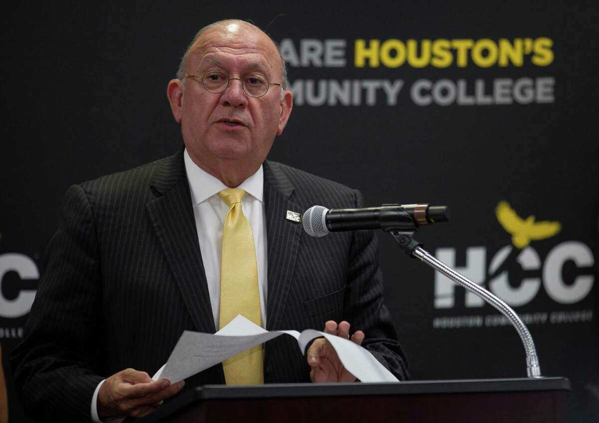 Houston Community College chancellor Cesar Maldonado, and board of trustees member Adriana Tamez are named in the lawsuit.