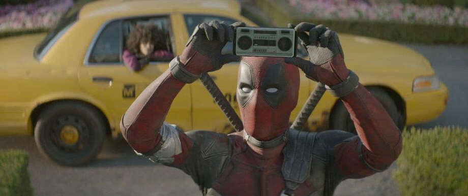 "Ryan Reynolds returns in ""Deadpool 2"" for a stream of retro-pop references that include the 1989 movie ""Say Anything … "" (Twentieth Century Fox) Photo: Twentieth Century Fox. / The Washington Post"
