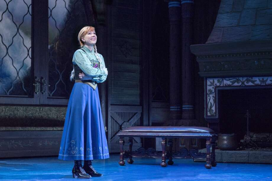 Disney Theatrical Productions under the direction of Thomas Schumacher presents Frozen, the new Broadway musical. Photo: Deen Van Meer