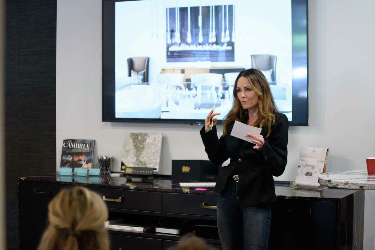 Lucinda Loya of Lucinda Loya Interiors talks about three of her favorite projects -- her own homes in Houston, New York and Kentucky -- at Access Design.