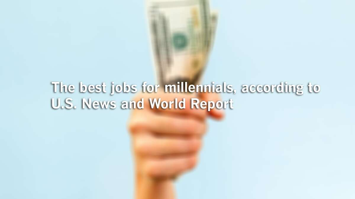 The best jobs for millennials, according to U.S. News and World Report