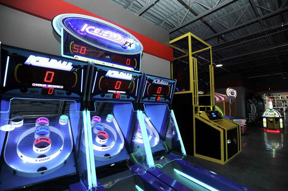 The new RPM Raceway, at 600 West Ave., in Stamford, Conn., features a full arcade.