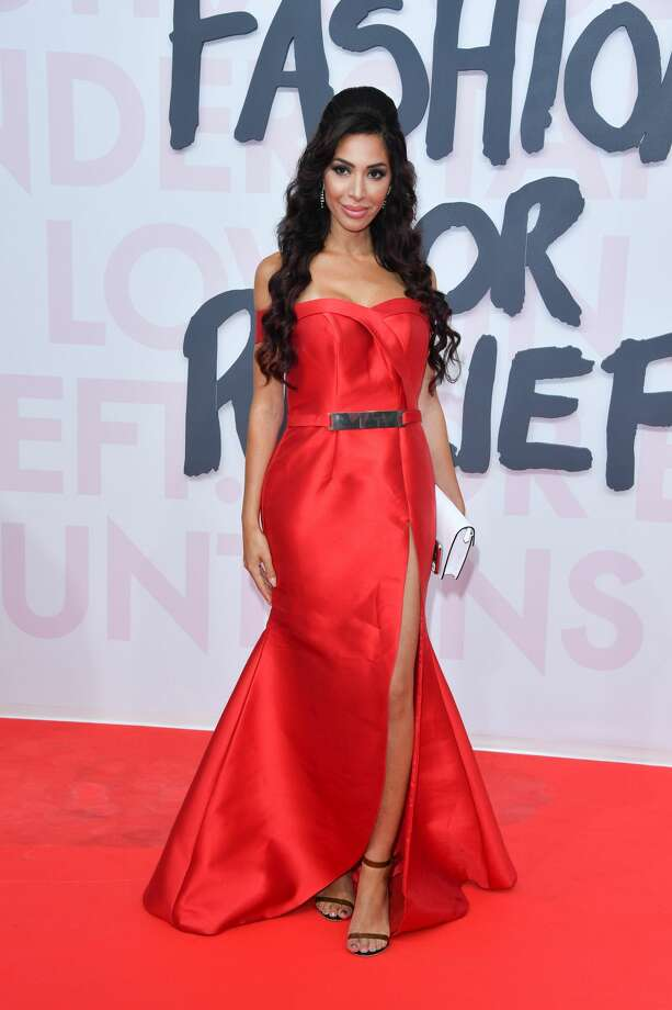 """Teen Mom"" star Farrah Abraham had a major wardrobe malfunction at the 2018 Cannes Film Festival.