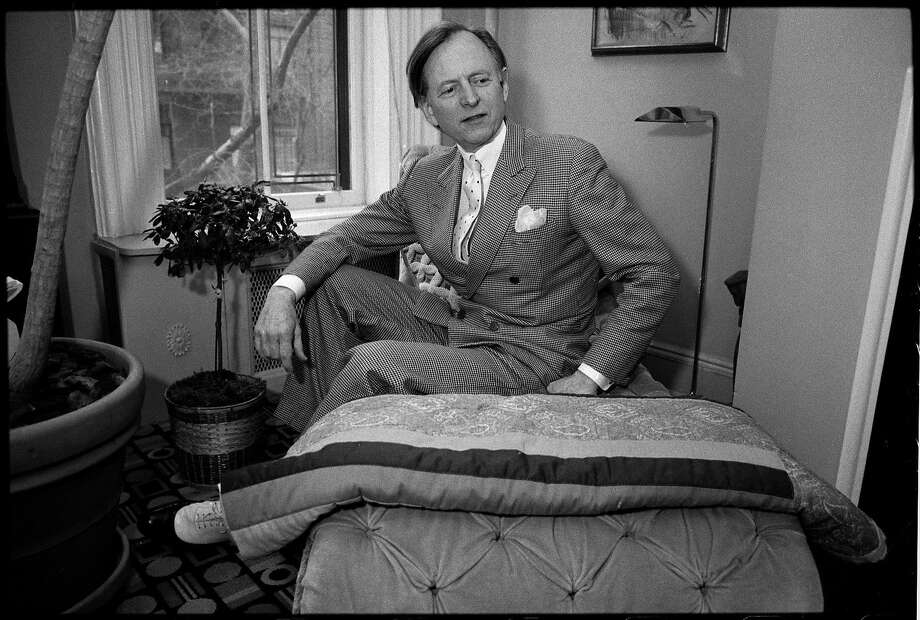 Tom Wolfe in New York in 1988. Photo: ANGEL FRANCO;Angel Franco / New York Times