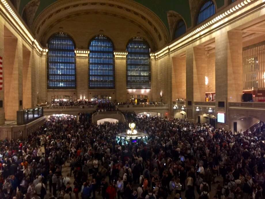 Customers are advised to avoid Grand Central Terminal until further notice. By Jon Lucas