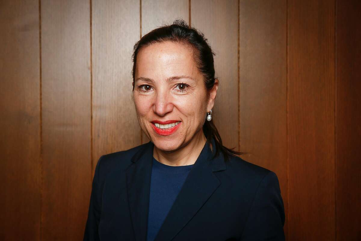 Former United States Ambassador to Hungary Eleni Kounalakis, seen on Monday, March 12, 2018 in San Francisco, Calif., is running for California Lieutenant Governor.