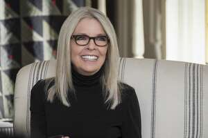 "This image released by Paramount Pictures shows Diane Keaton in a scene from ""Book Club."" (Melinda Sue Gordon/Paramount Pictures via AP)"