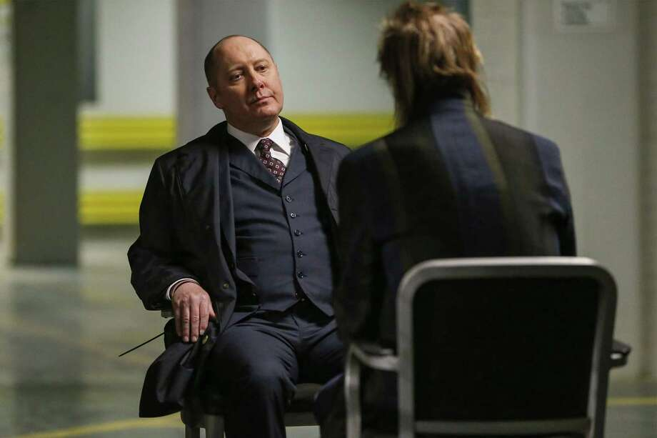 "THE BLACKLIST -- ""Sutton Ross (#17)"" Episode 522 -- Pictured: James Spader as Raymond ""Red"" Reddington -- (Photo by: Will Hart/NBC) Photo: Credit: Will Hart/NBC / 2018 NBCUniversal Media, LLC. Credit: Will Hart/NBC"