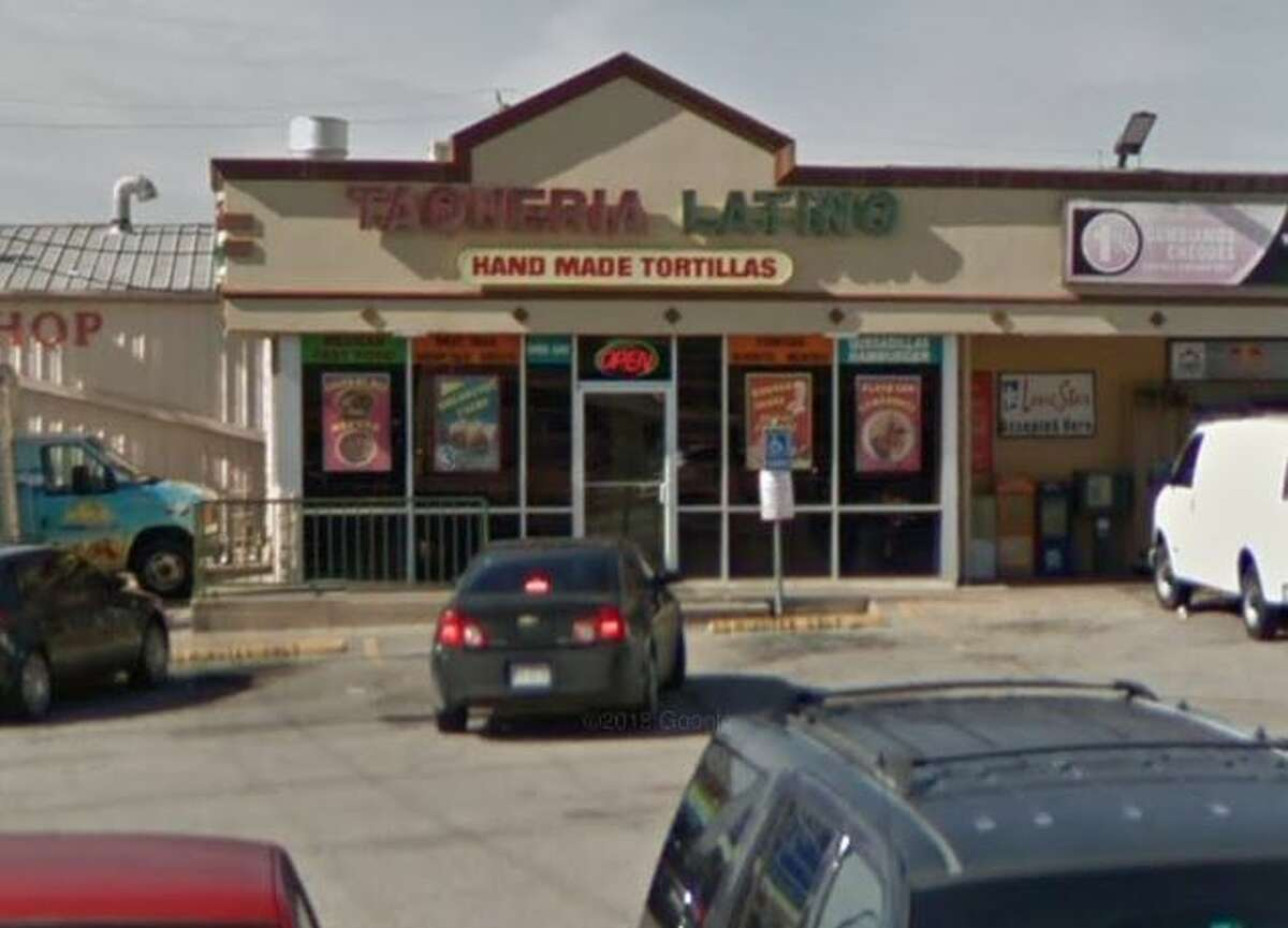 Taqueria Latino  5728 Fondren Houston, TX 77036 Demerits: 20 Inspection Highlights: Provide effective measures intended to eliminate the presence of gnats / flies on the premises. Observed gnats in kitchen around the hand sink and in dry storage area and few flies in dining room.