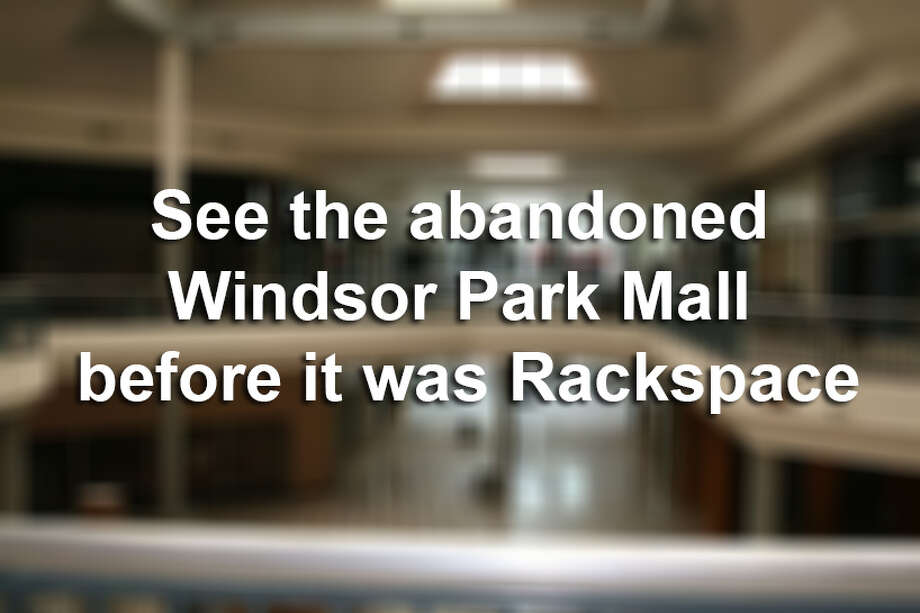 See the abandoned Windsor Park Mall before it was Rackspace. Photo: Mysa