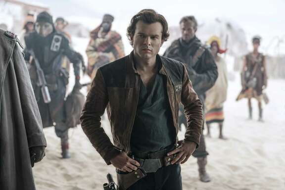 "Alden Ehrenreich appears in a scene from ""Solo: A Star Wars Story."""