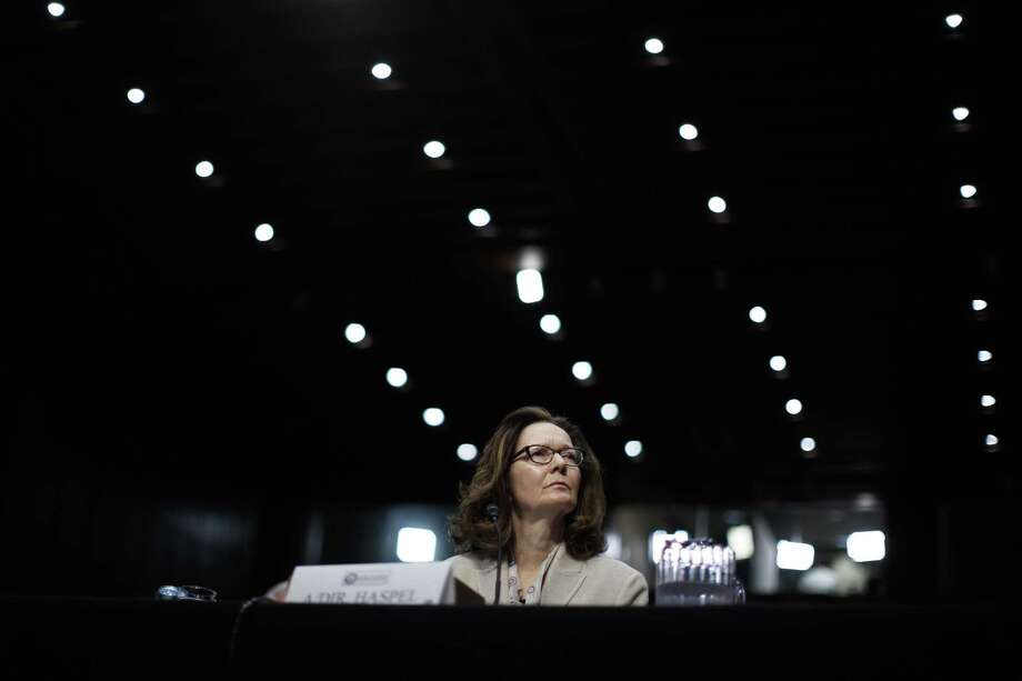 Gina Haspel, the Trump administration's nominee for CIA director, during her confirmation hearing before the Senate Intelligence Committee, on Capitol Hill in Washington, May 9, 2018. Photo: TOM BRENNER, STF / NYT / NYTNS