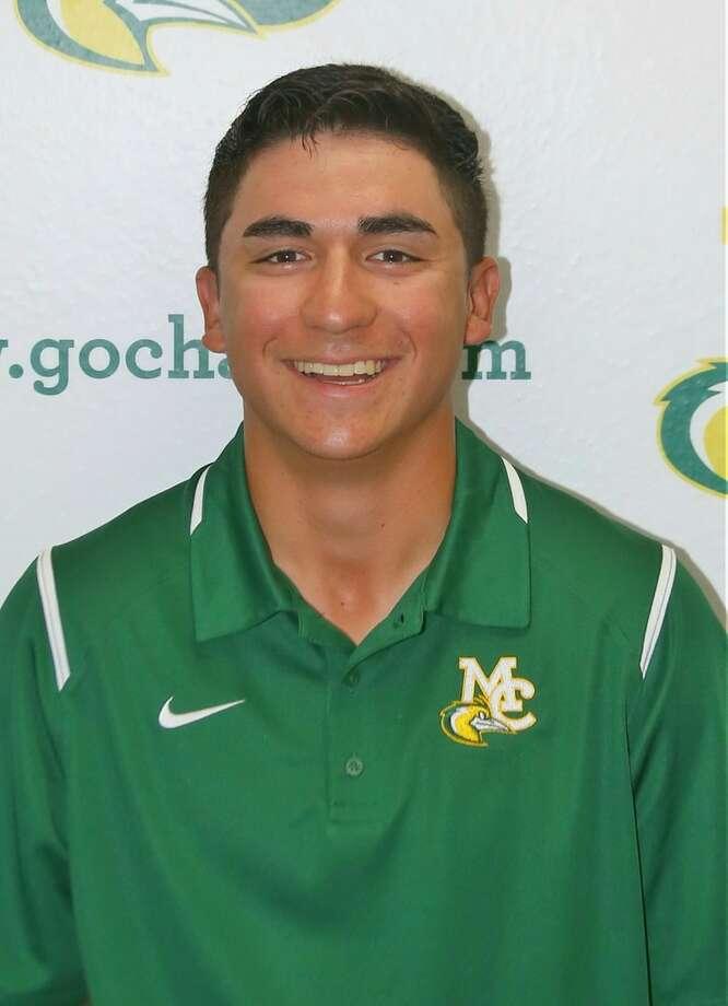 Midland College golfer Michael Salazar.