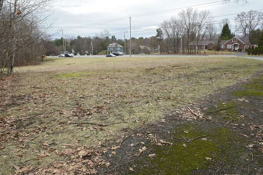 Land where a proposed Holocaust Memorial is set to be located is seen along Troy Schenectady Rd. on Friday, March 30, 2018 in Niskayuna, N.Y. (Lori Van Buren/Times Union)