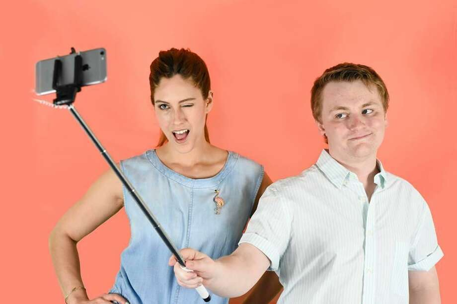 Allison McDermott and Rob Grimm will present One Night Only: Artstagram and Student-Directed Circus, at Oddfellows Playhouse in Middletown this weekend. Photo: Contributed Photo