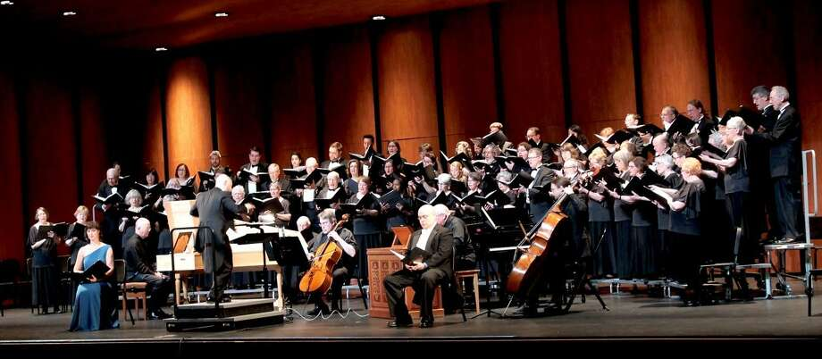 GMChorale performs 'Jepte' in April 29. The group is giving several concerts in June, and tickets are now available. Photo: Contributed Photo