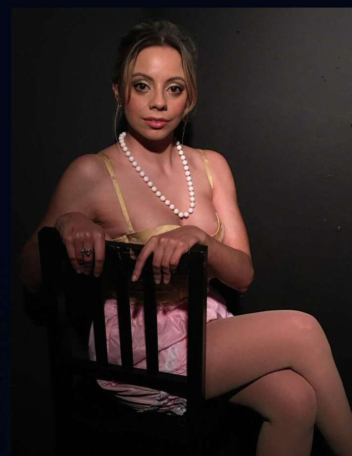 "Ashley Ayala stars in Connecticut Cabaret Theater's production of ""The Underpants."" Photo: Contributed Photo"