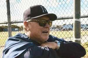 Jim Saunders, retiring Encinal baseball coach.