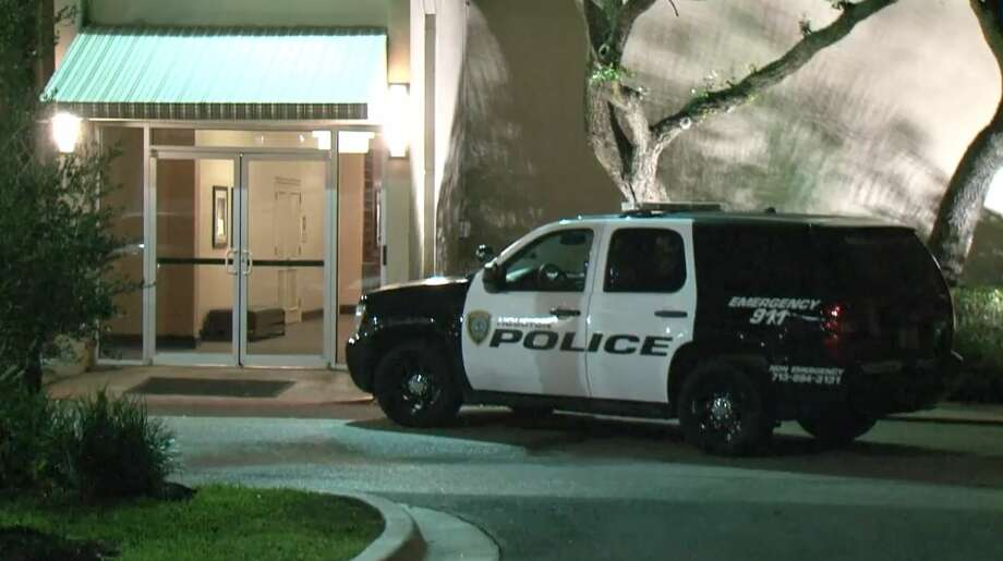 Thieves struck the Four Points Sheraton, at the Katy Freeway near the west Sam Houston Parkway, early Wednesday, May 16, 2018. Photo: Metro Video