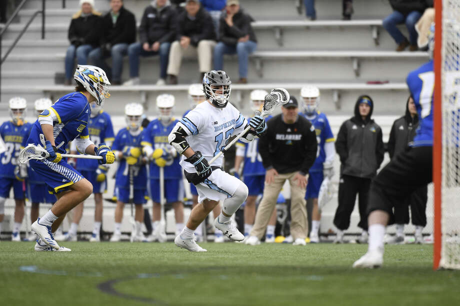 Shenendehowa graduate Kyle Marr leads Johns Hopkins with 39 goals heading into Sunday's NCAA Tournament quarterfinal against Duke. (Johns Hopkins athletic communications)