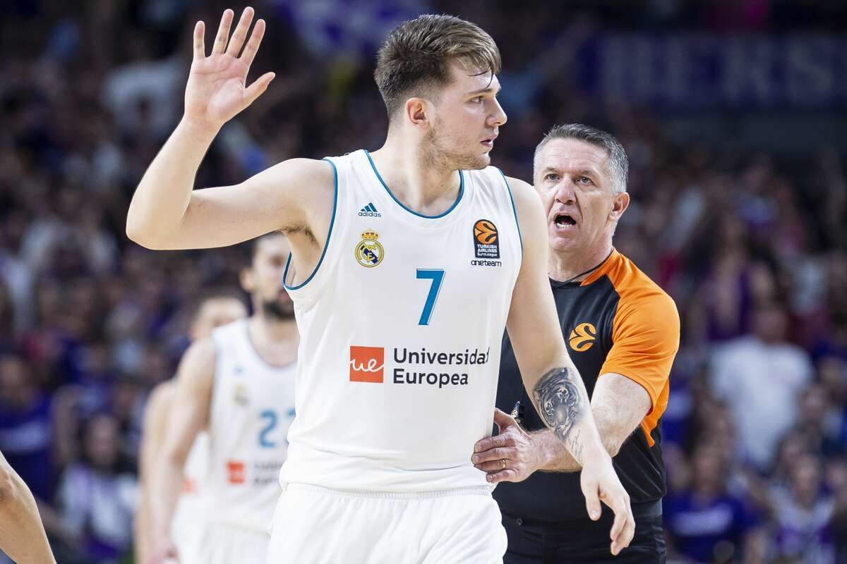 2. Sacramento KingsLuka Doncic,SG, SloveniaDoncic is the most mysterious player in the draft and may not be too well known among casual basketball fans. However, this should change quickly as he makes a name for himself in the U.S. At 6-8, Donic's ability to create his own shot and set up his teammates screams modern-day NBA. He currently plays for Real Madrid in Spain - a team that is considered the best non-NBA team in the world - and averages 12.8 points, 5 assists and 5.7 rebounds in 23.4 minutes per game.