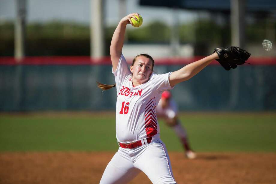 Former Torrington High standout Ali DuBois has had a stellar freshman season at Boston University. On Friday, she will start against defending national champion Oklahoma in the first round of the NCAA softball tournament. Photo: Taylor Jones /Boston University Athletics / Taylor Jones