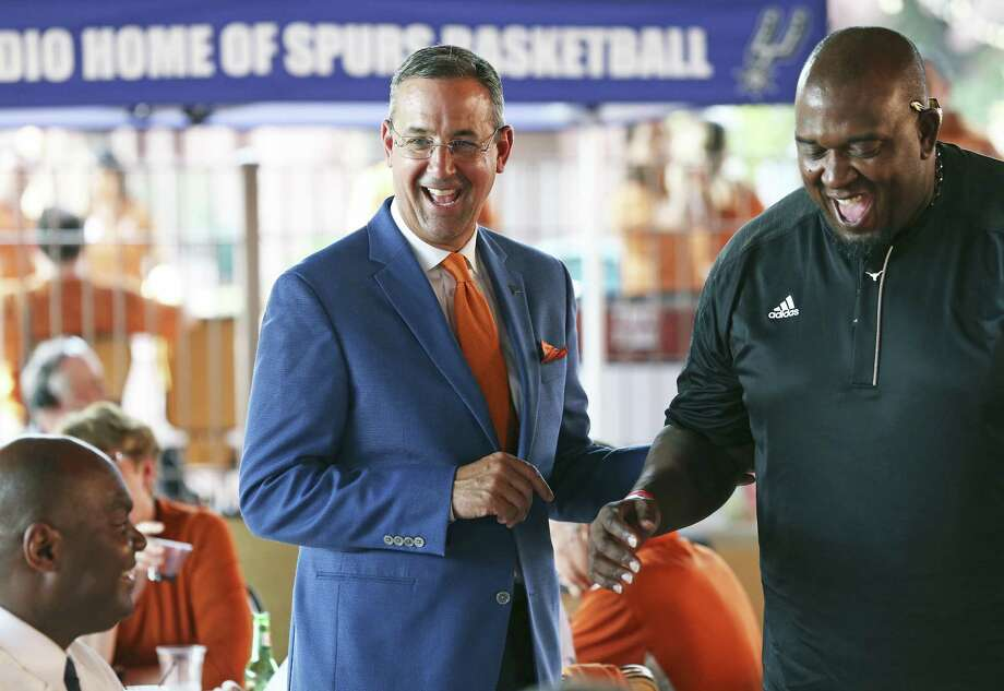 UT athletic director Chris Del Conte came to the Forty Acres after eight successful years at TCU. Photo: Tom Reel / San Antonio Express-News / 2017 SAN ANTONIO EXPRESS-NEWS