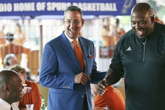 UT athletic director Chris Del Conte came to the Forty Acres after eight successful years at TCU.