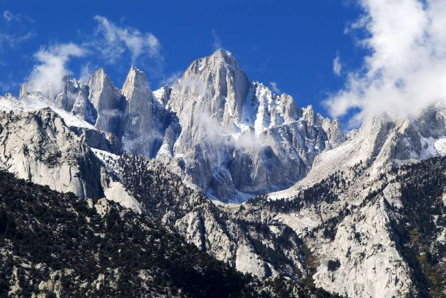 Mount Whitney is the highest mountain in the continental United States and stands 14,494 feet tall. Photo: Emily Riddell/Getty Images/Lonely Planet Images
