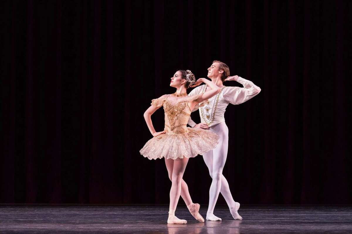 """Members of Houston Ballet II will perform """"Raymonda"""" during the Houston Ballet Academy's Spring Showcase May 24-26 at Moores Opera House."""
