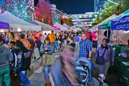 Discovery Green hosts Flea by Night on Saturday.