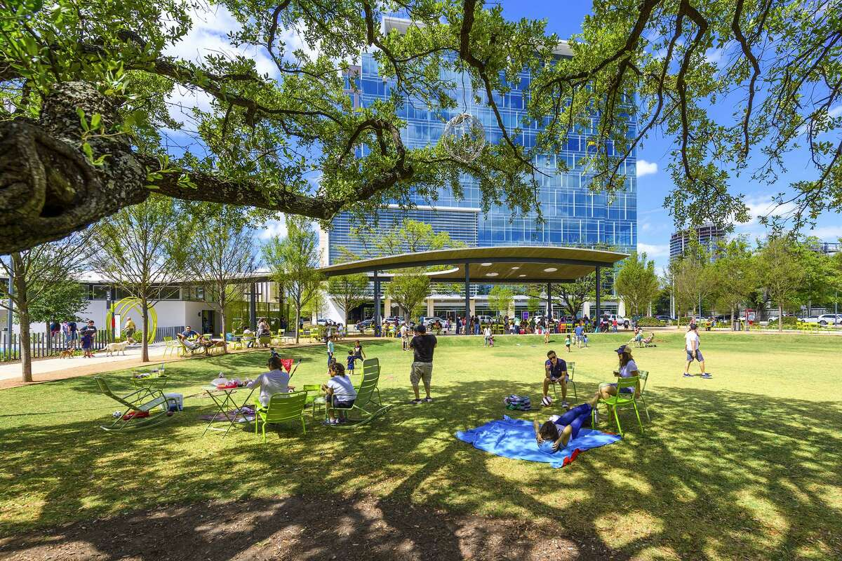 Levy Park has won the Urban Land Institute's international Open Space Award for 2018.