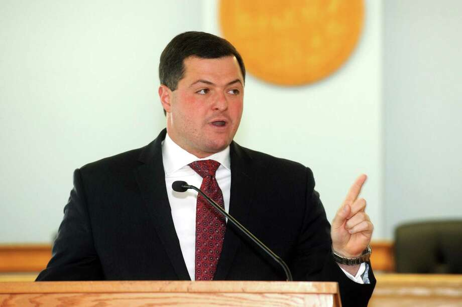 Tim Herbst, the former Trumbull first selectman who is running for the party's gubernatorial nomination in the August 14 primary, on Wednesday won the endorsement of the conservative Family Institute of Connecticut. Photo: Ned Gerard / Hearst Connecticut Media / Connecticut Post