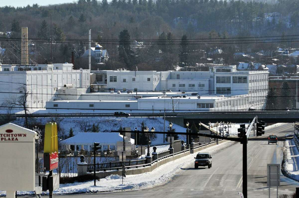 Long-stalled demolition work at the former Beech Nut plant off the state Thruway in Montgomery County could resume this year now that outdoor piles of asbestos-tainted debris have been cleaned up. (Paul Buckowski / Times Union)