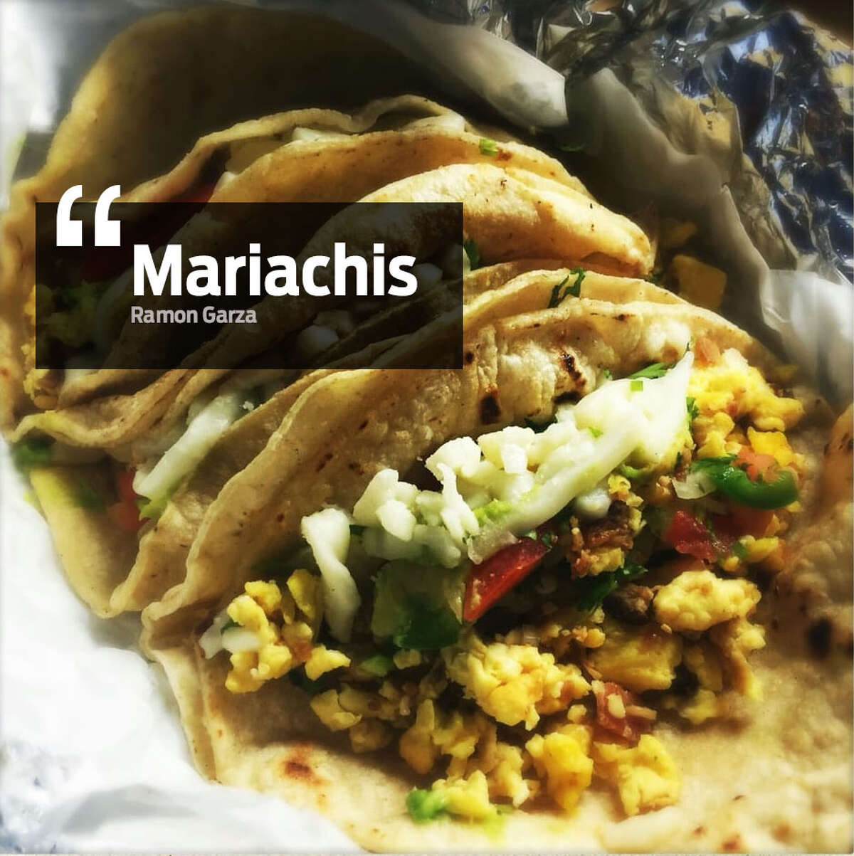 """""""Mariachis"""" Also known as tacos."""