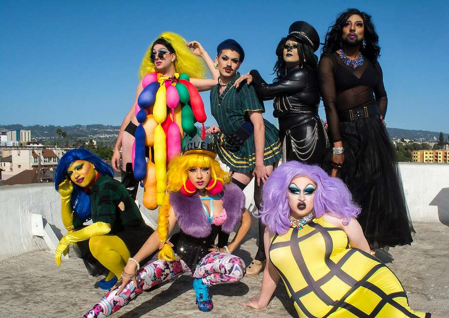 Performers from the upcoming drag festival Oaklash, the first drag festival in the Bay Area. Photo: Oaklash
