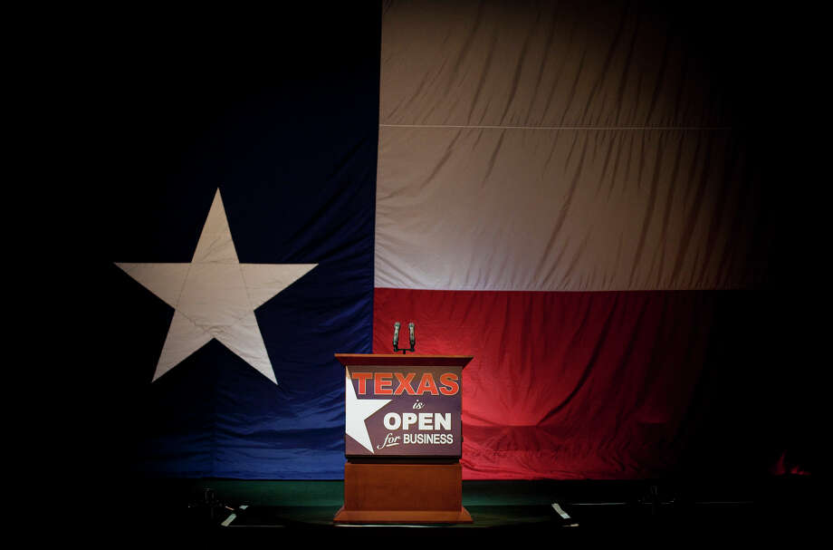 "An annual Gallup poll shows that Texas is a ""competitive"" state, a repeat of last year's findings.  See where Houston and Texas politicians get their money from. Photo: Ben Sklar/Getty Images"