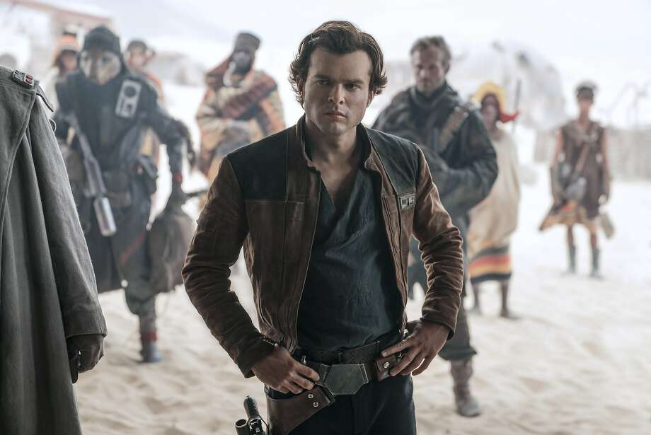 "In this image released by Lucasfilm, Alden Ehrenreich appears in a scene from ""Solo: A Star Wars Story."" (Jonathan Olley/Lucasfilm via AP) Photo: Jonathan Olley, Associated Press"