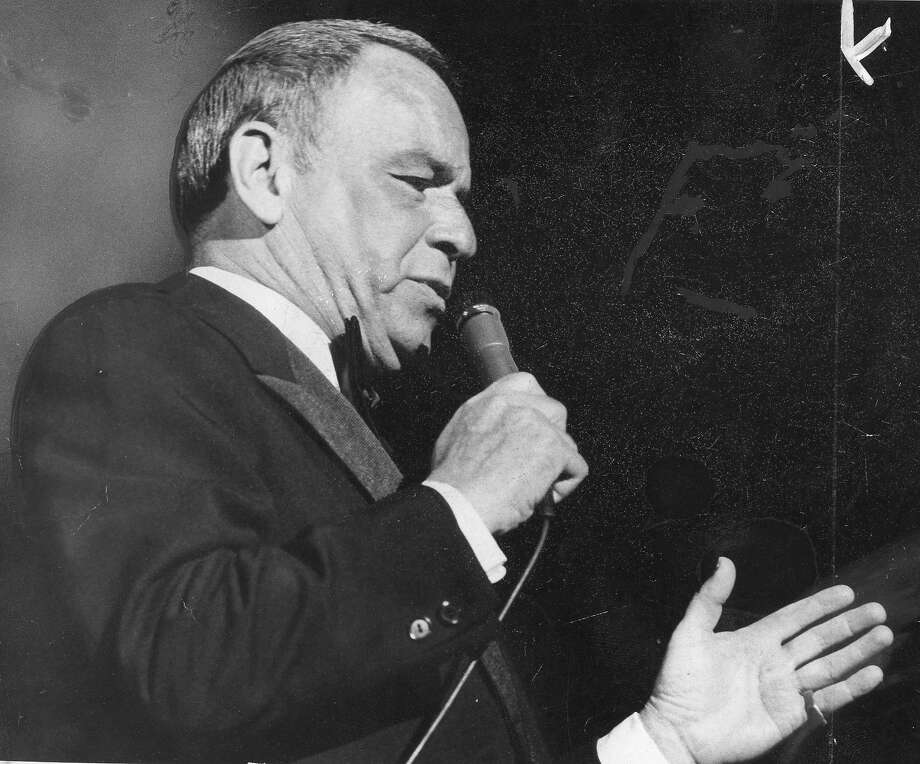 Frank Sinatra: Like him or not, his work will last, unlike the other Rat Packers. Photo: Gary Fong / The Chronicle 1975