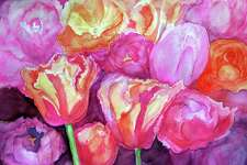 Gunn Memorial Library in Washington will present a new collection of watercolor paintings by Jim Stanton.