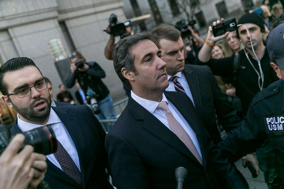 """Trump's financial disclosure revealed for the first time that he paid more than $100,000 to Michael Cohen, as reimbursement for payments to a """"third-party."""" Photo: Jeenah Moon / New York Times"""