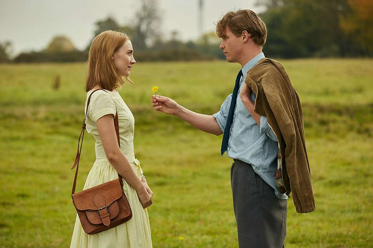 """Saoirse Ronan and Billy Howle in """"On Chesil Beach."""" (Bleeker Street)"""