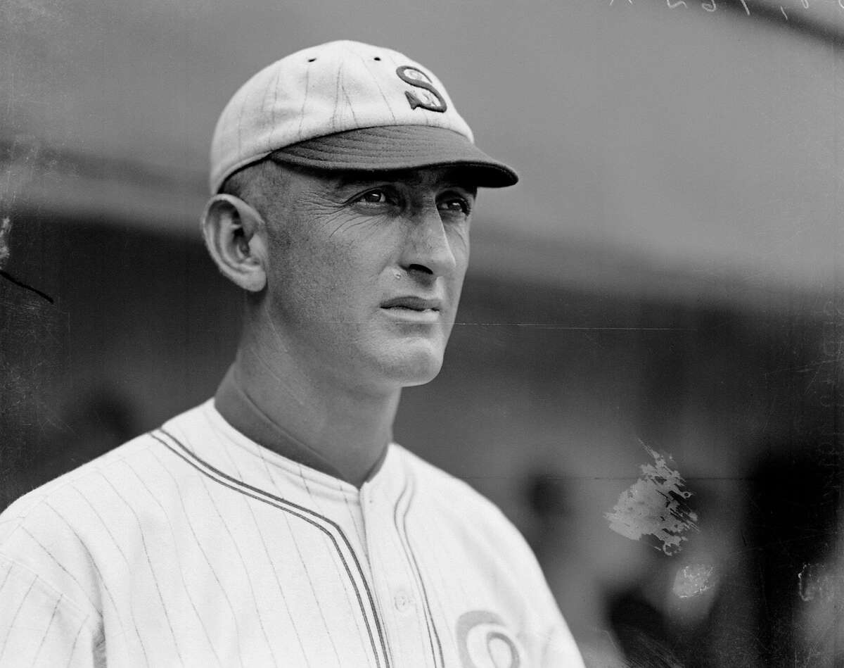 In this photo, circa 1919, provided by the Chicago History Museum, is Chicago White Sox player Shoeless Joe Jackson.